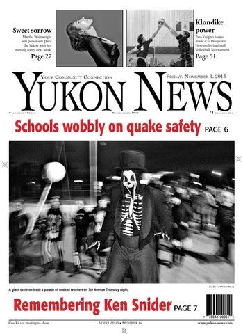 a0135e6ff98b47 Yukon News, November 01, 2013 by Black Press - issuu