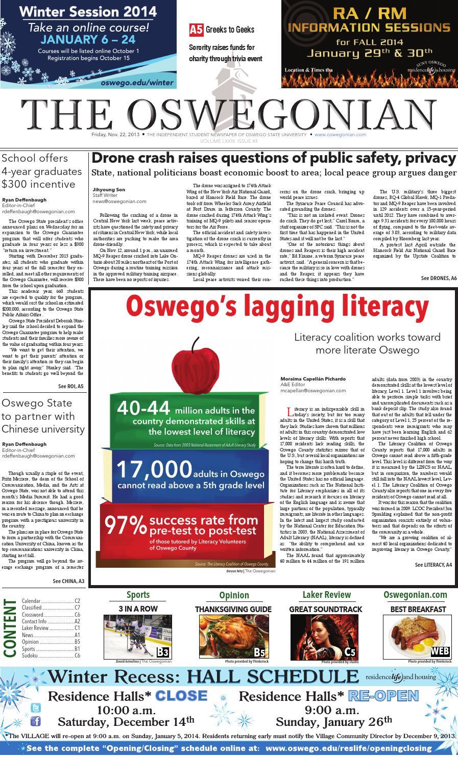 The Oswegonian By