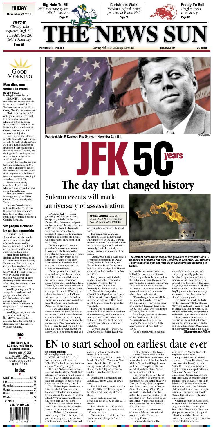 The News Sun – November 22, 2013 by KPC Media Group - issuu