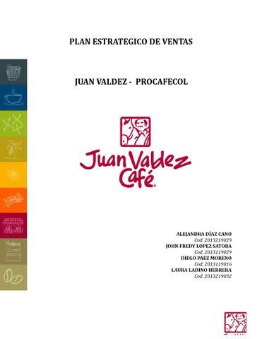 PLAN ESTRATEGICO DE VENTAS JUAN VALDEZ by diepaz - issuu 2df0fecbb44