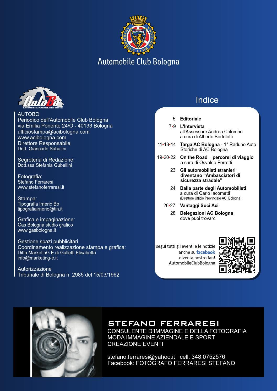 AUTO BO - Il magazine dell'Automobile Club Bologna by ACI