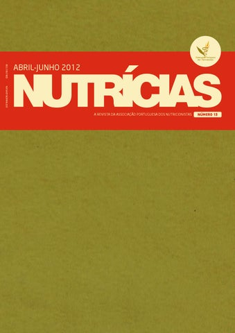 Nutrcias n13 by associao portuguesa de nutrio issuu page 1 fandeluxe Images