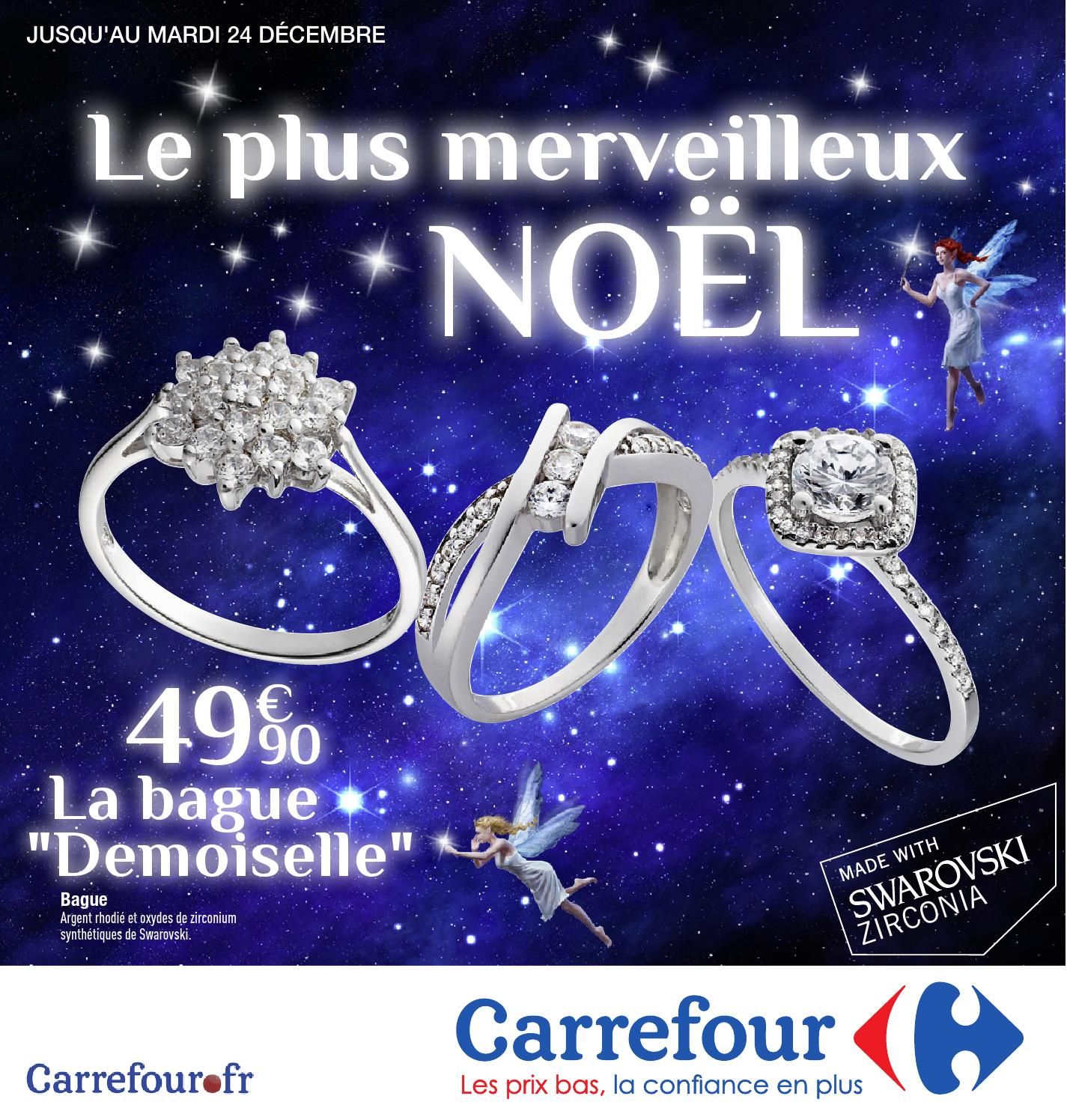 collier argent carrefour