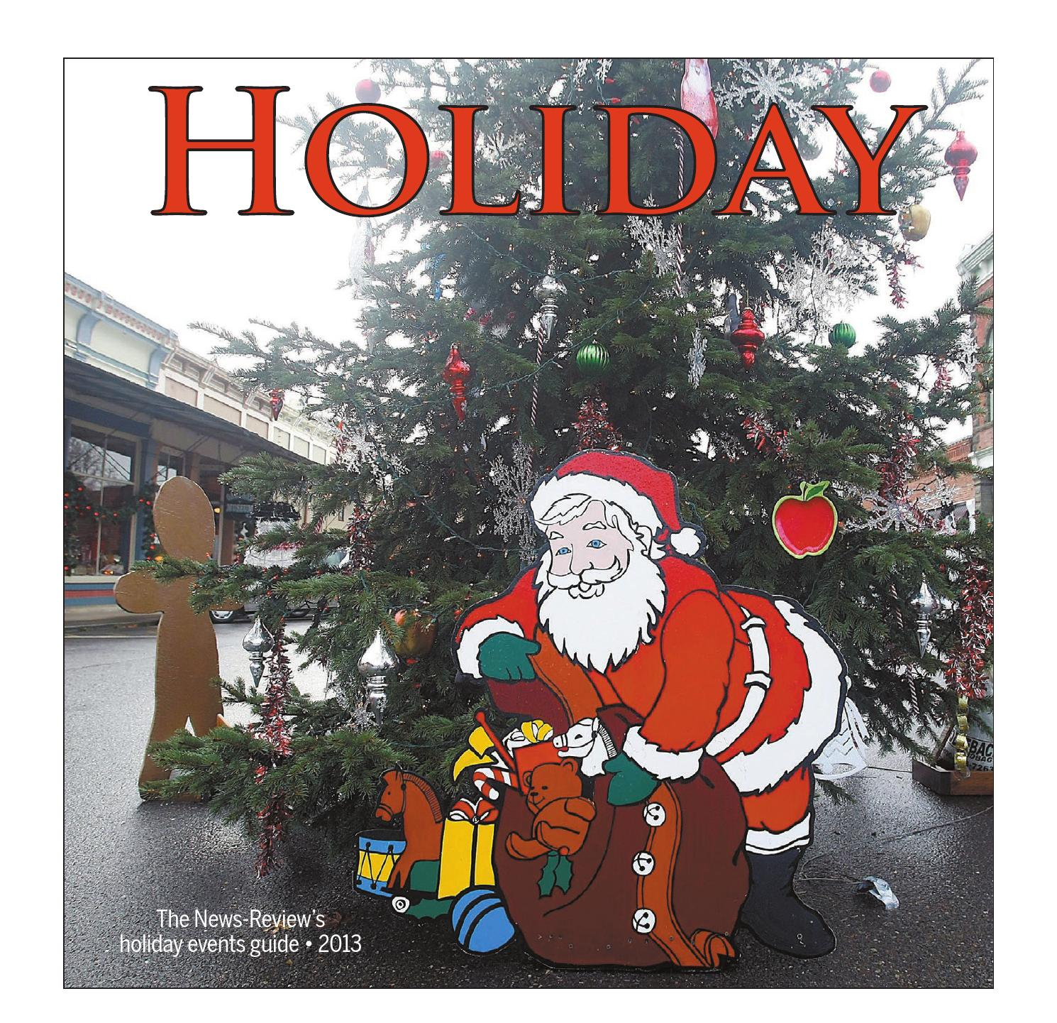 Holiday events guide by News Review issuu