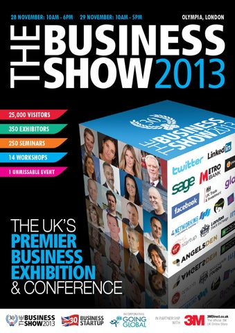 List Of Exibitors At 2020 Christmas Show Case The Business Show Guide November 2013 by Prysm Group   issuu