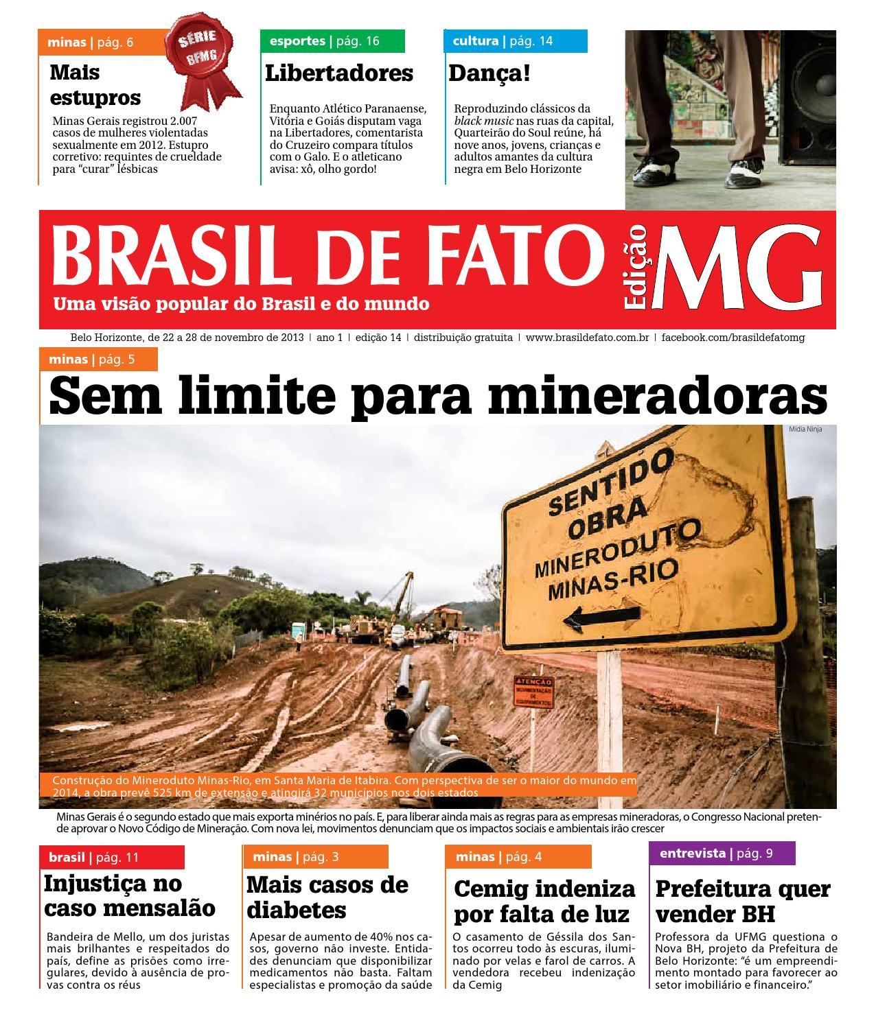 0505ef4ce8 Edição 14 do Brasil de Fato MG by Brasil de Fato MG - issuu
