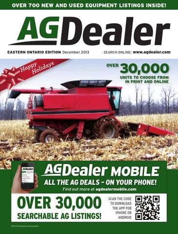 AGDealer Eastern Ontario Edition, December 2013 by Farm Business