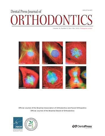 Dental press journal of orthodontics v 18 n 6 nov dec 2013 by volume 18 number 6 nov dec 2013 portuguese version fandeluxe Images