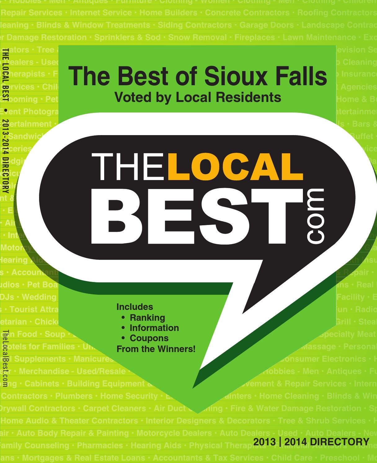 The Local Best   Sioux Falls   2013 2014 By Locals Love Us   Issuu