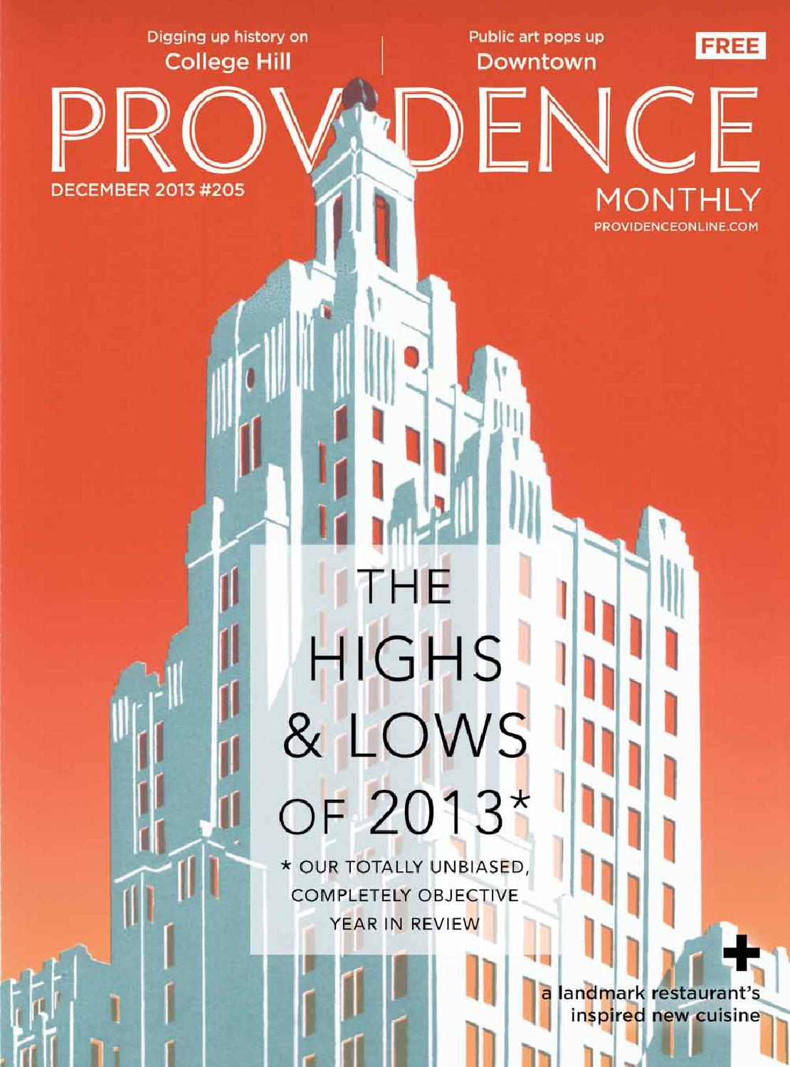 Providence Monthly December 2013 By Providence Media Issuu