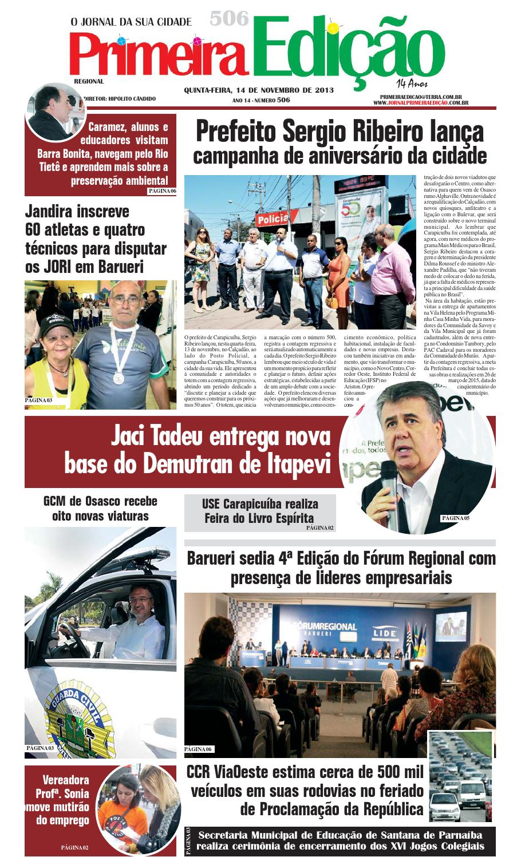 79f38072be87d Jornal Primeira Edição nº 506 by Jornal Primeira Edição - issuu