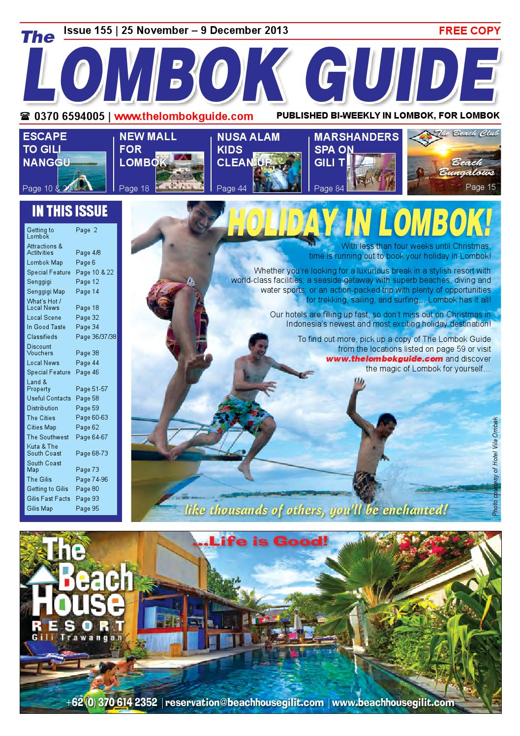 The Lombok Guide Issue 155 By Issuu Parcel Ketupat