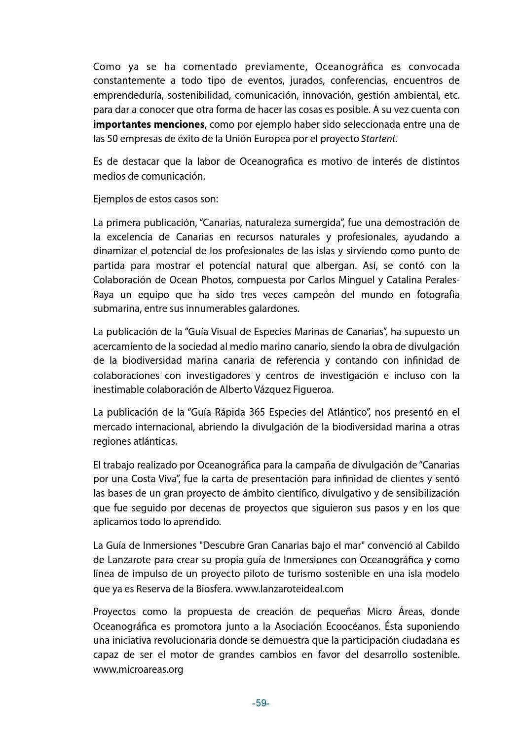 Economía del Bien Común, informe del balance, Oceanográfica by ...