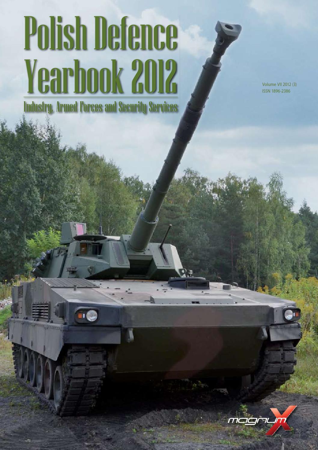 Polish Defence Yearbook 2012 by Marek Szyl - issuu