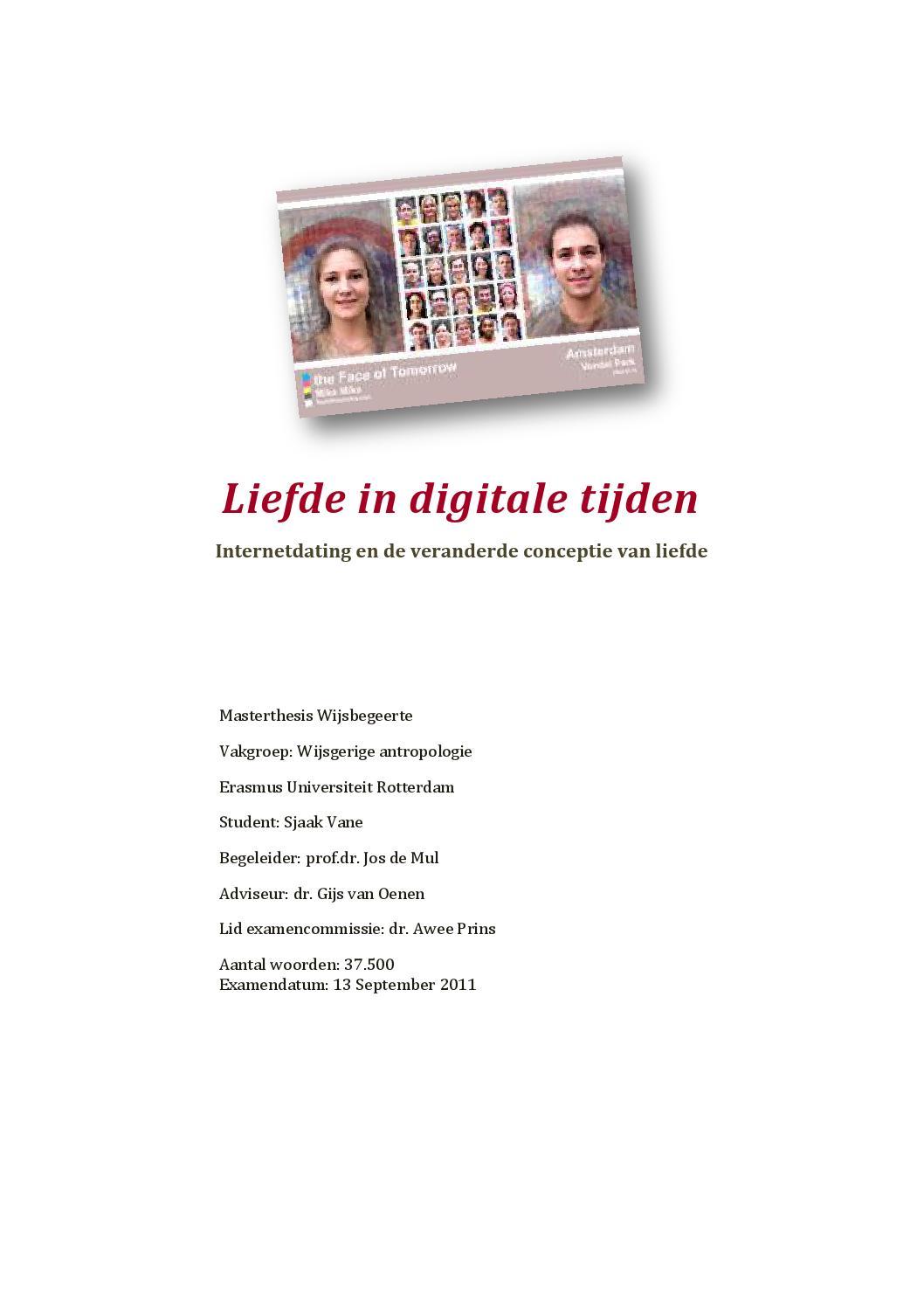 Relationshopping onderzoek naar de markt metafoor in online dating