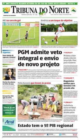 41d2127f13 Tribuna do Norte - 23 11 2013 by Empresa Jornalística Tribuna do ...