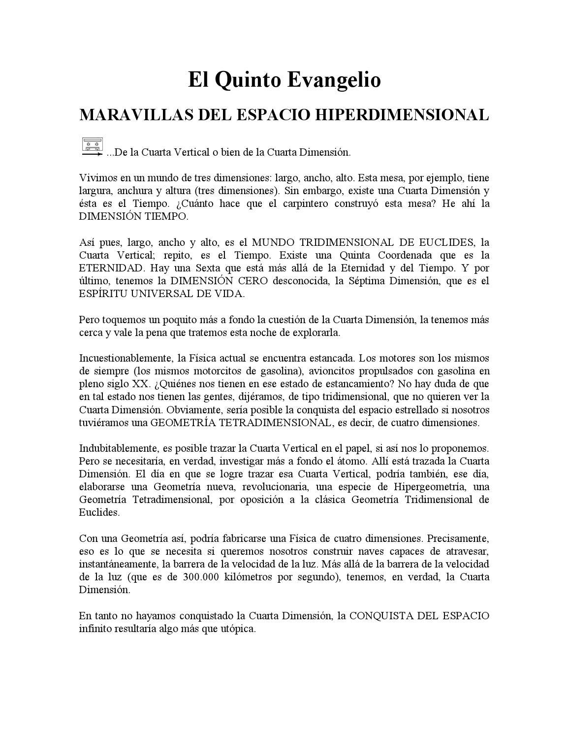 208 maravillas del espacio hiperdimensional by Josew Quinterob - issuu
