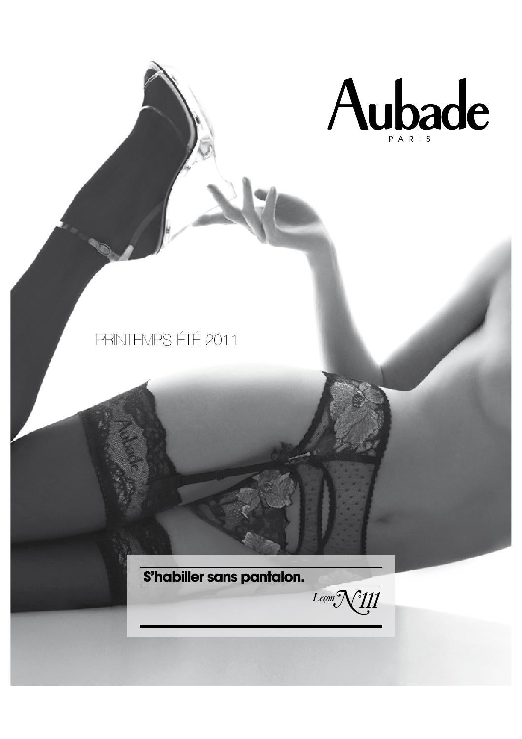 special section exquisite style new high Aubade catalogue lingerie2 by skanaticus - issuu