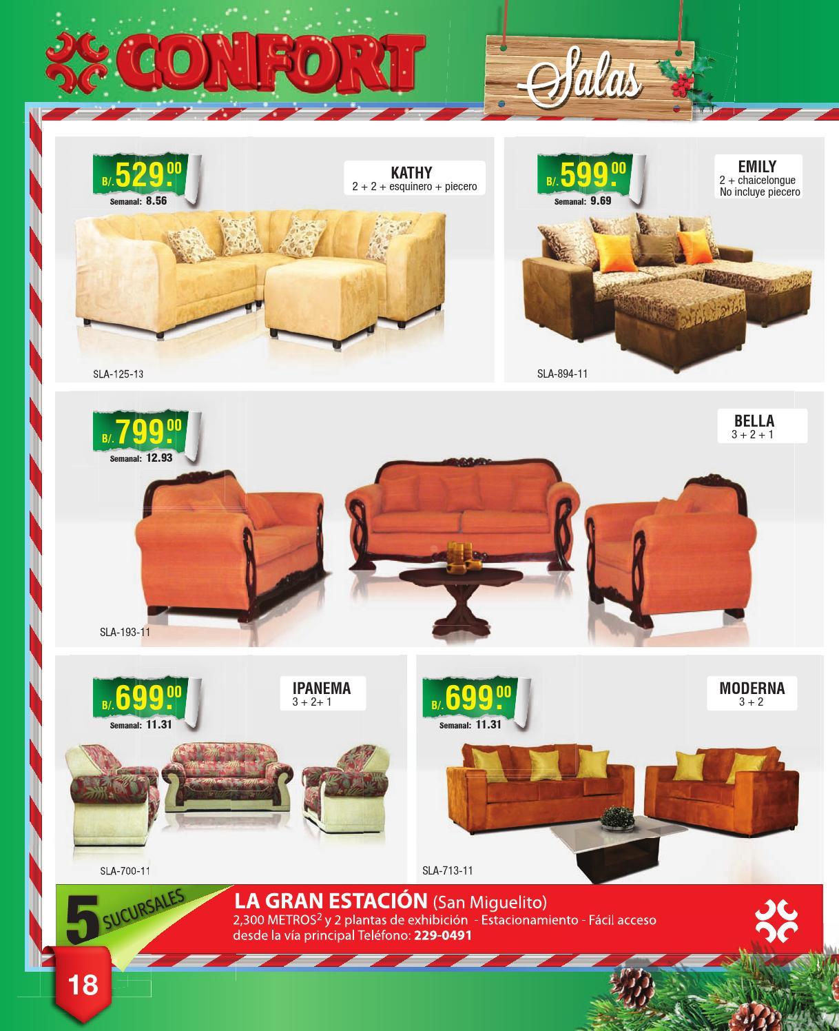 Casa confort panam by interiores estilo issuu - Mundo joven muebles catalogo ...