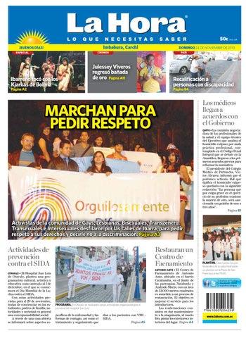 Imbabura Carchi 24 de noviembre 2013 by Diario La Hora Ecuador - issuu 4945a80309368