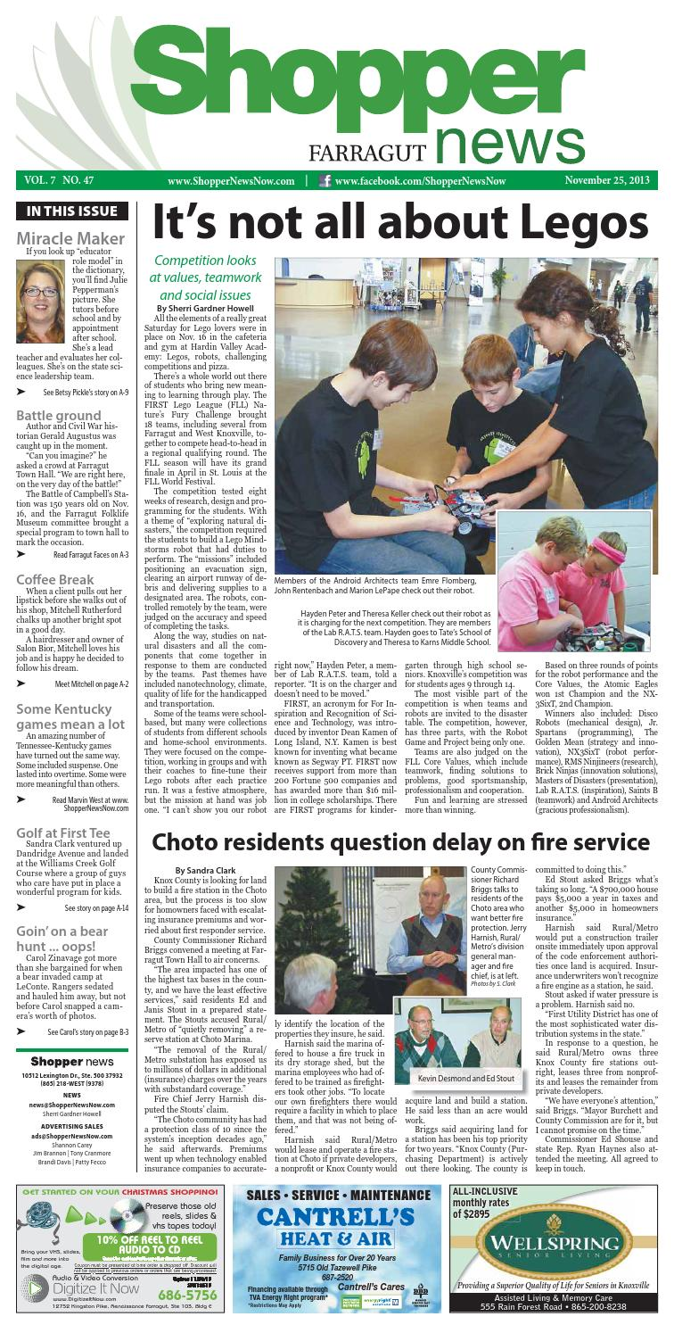 Farragut Shopper-News 112513 by Shopper-News - issuu