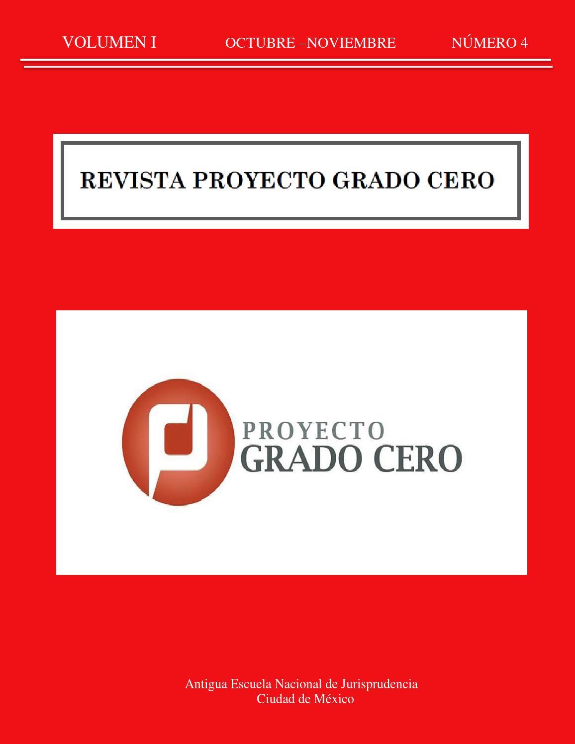 revista 4 proyecto grado cero by proyecto grado cero On revista rating cero