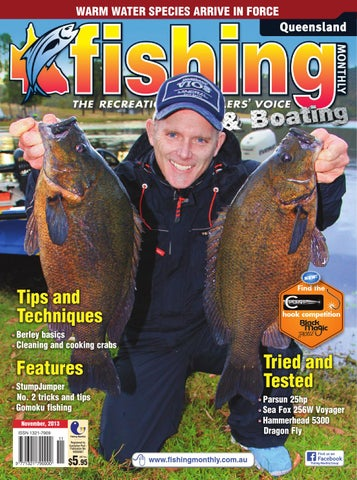 Queensland Fishing Monthly November By Fishing Monthly Issuu - Blue fin boat decalsblue fin sportsman need some advice pageiboats