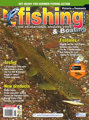 ea4c8261f37 Victoria and Tasmania Fishing Monthly - November 2013 by Fishing ...