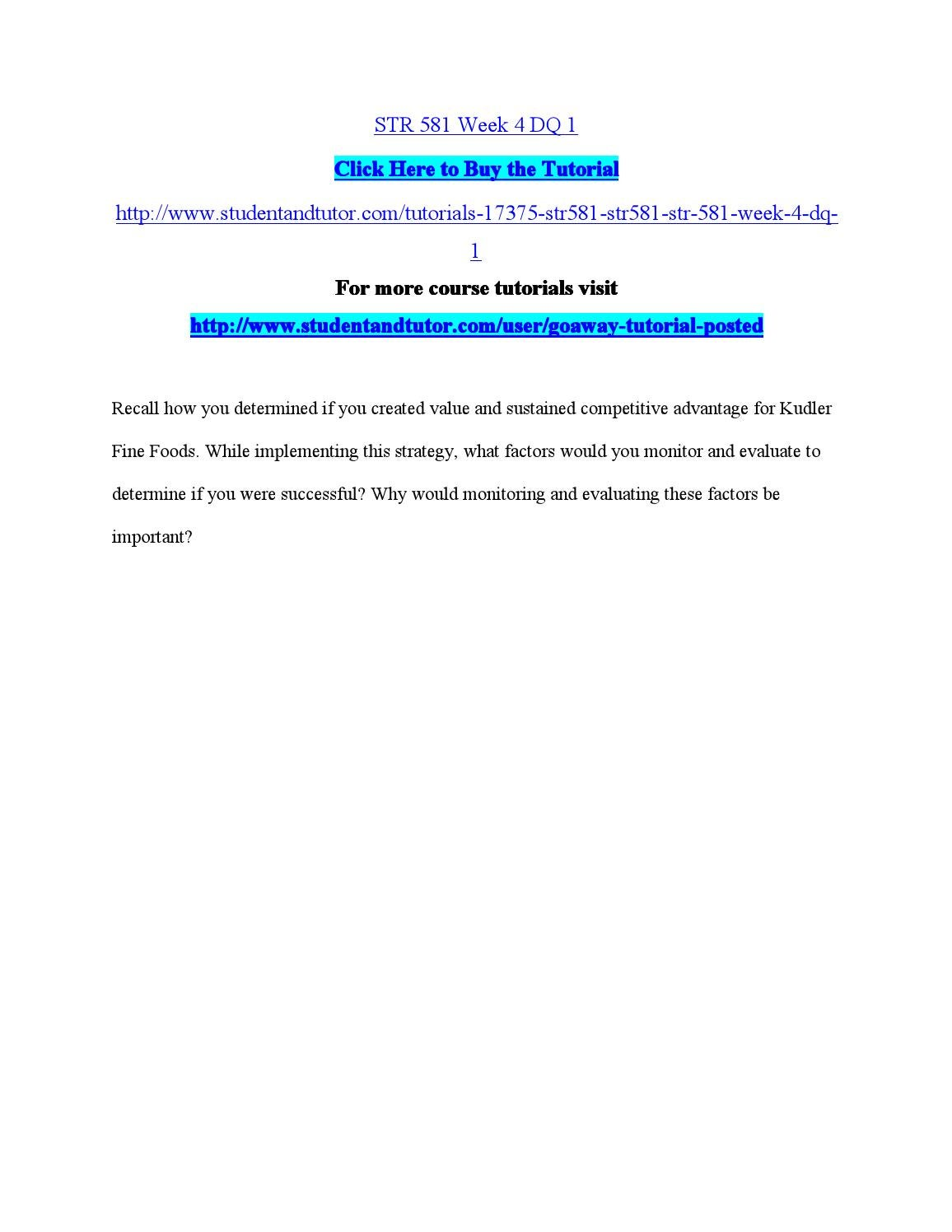 edd 581 week 5 dq 1 Snaptutorial is a online tutorial store we provides str 581 week 2 dq 1.