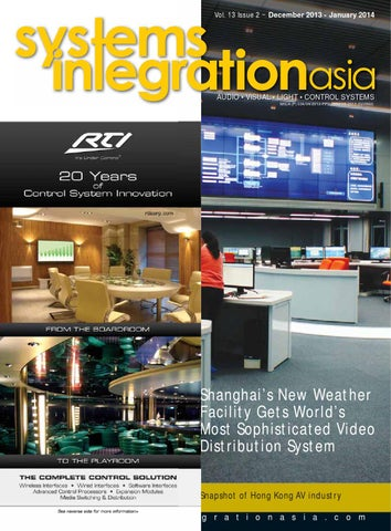 Systems Integration Asia December 2013 - January 2014 by