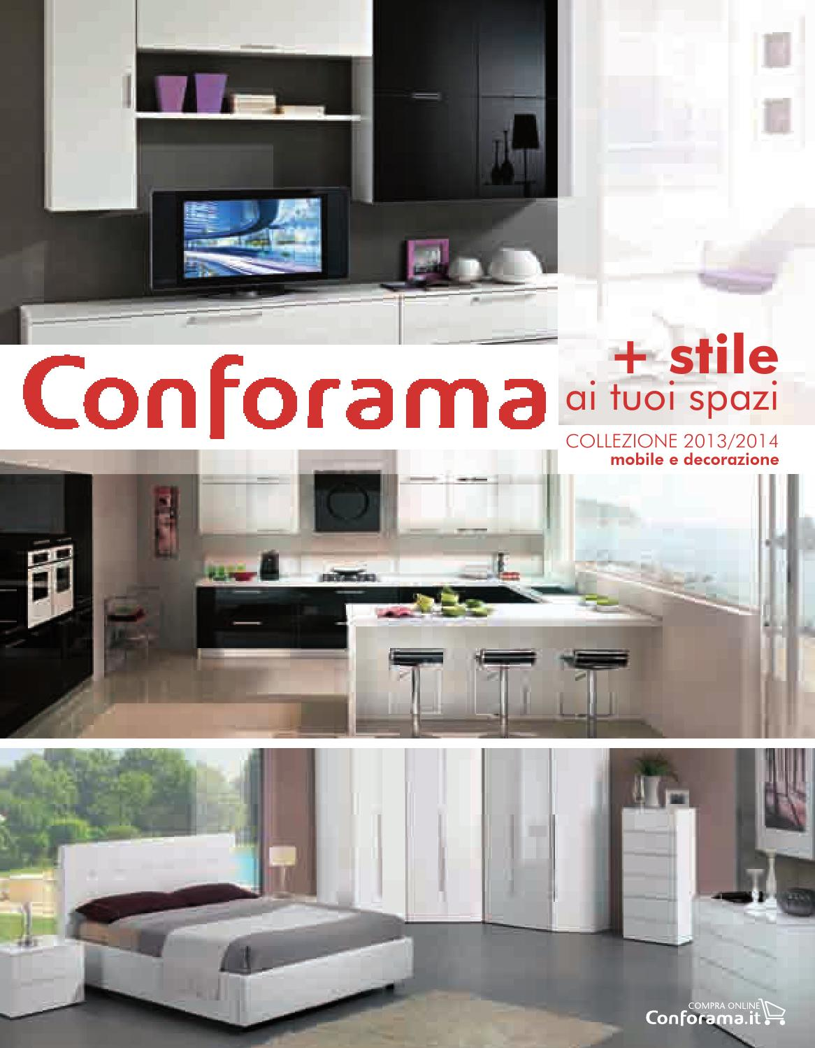 Conforama stile 2013 by catalogofree issuu - Conforama mobili tv ...