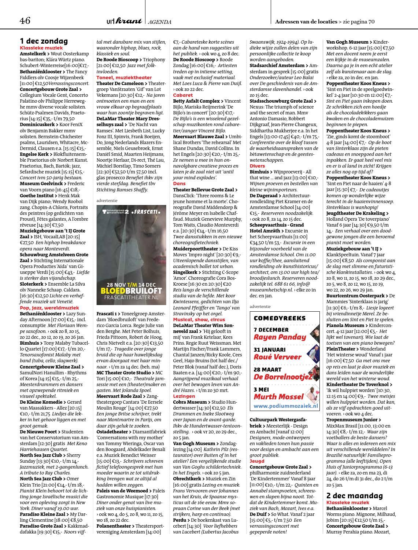 Uitkrant December Januari 2013 by amsterdam&partners issuu