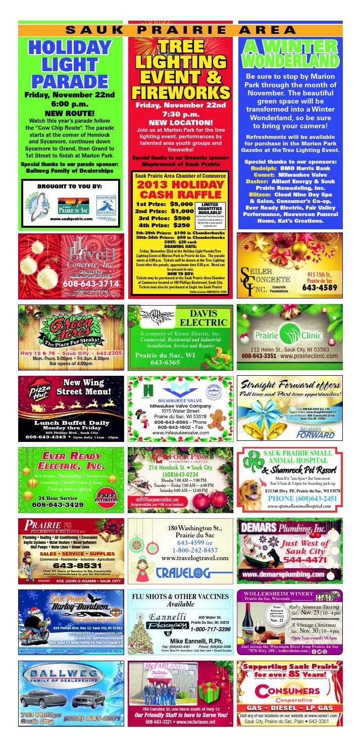 November 2013 Ads Volume 2 By Wisconsin Newspaper