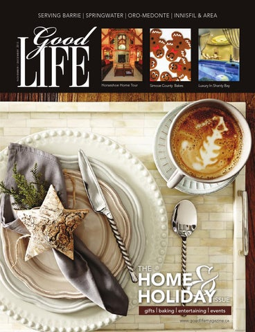 Goodlife Barrie November December 2013 By Goodlife Magazine Simcoe
