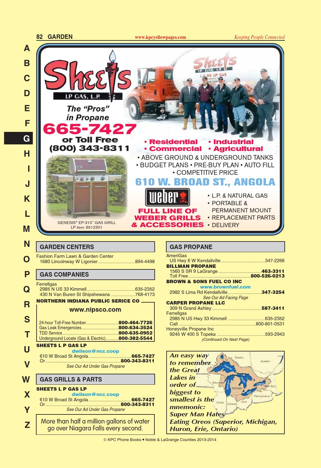 Noble/LaGrange County Yellow Pages by KPC Media Group - issuu