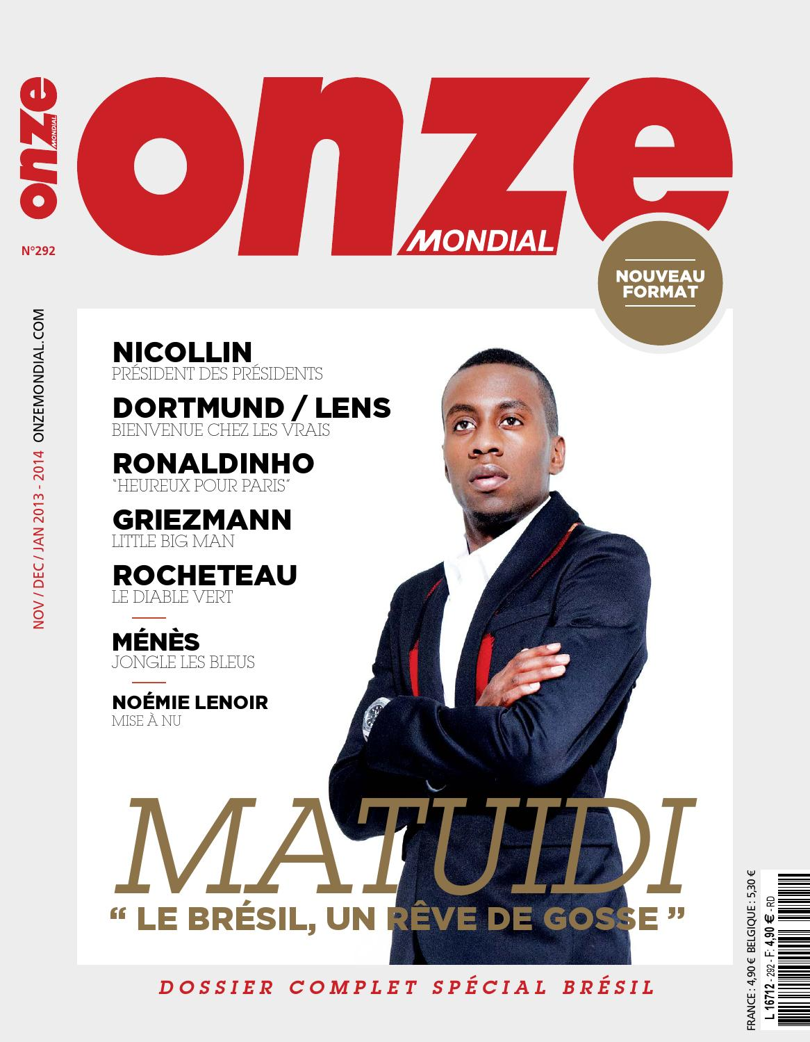 Onze Mondial N°292 by onzemondial - issuu 409edfe7225
