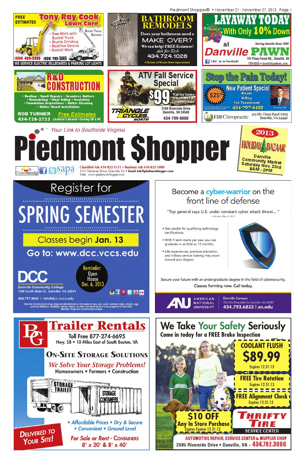 Piedmont Shopper 11 21 13 by piedmont shopper - issuu