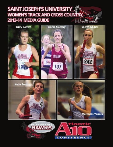 0dcd46cd679dc 2013-14 Women s Track and Cross Country Media Guide by Saint ...