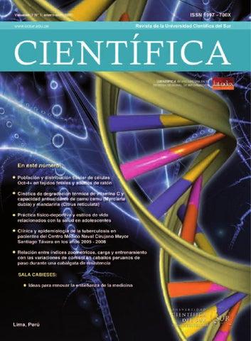 Revista CIENTÍFICA 7 N° 1 by Universidad Científica del Sur - issuu