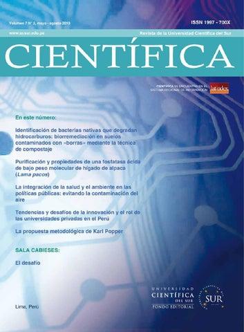 Revista Cientfica 7 N 2 By Universidad Cientfica Del Sur Issuu