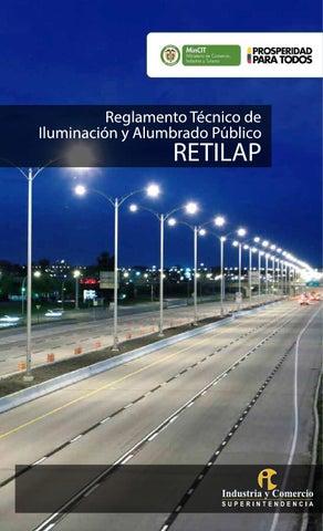 c4bb15d179c2 R.T de iluminación y alumbrado público RETILAP by Superintendencia ...