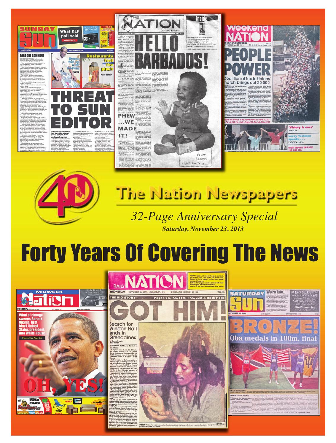 The Nation Newspapers' 40th Anniversary Supplement 1973-2013 by