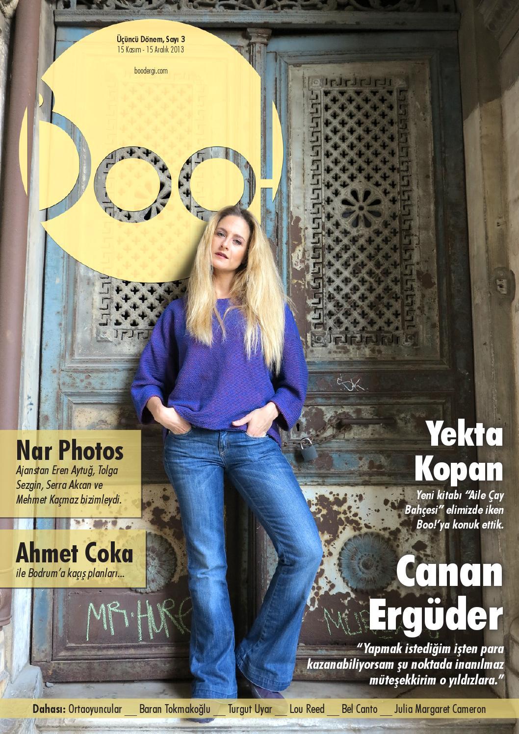 9ac32d5b0c500 Boo! Üçüncü Dönem, Sayı 3 (Canan Ergüder) by Boo! Dergisi - issuu