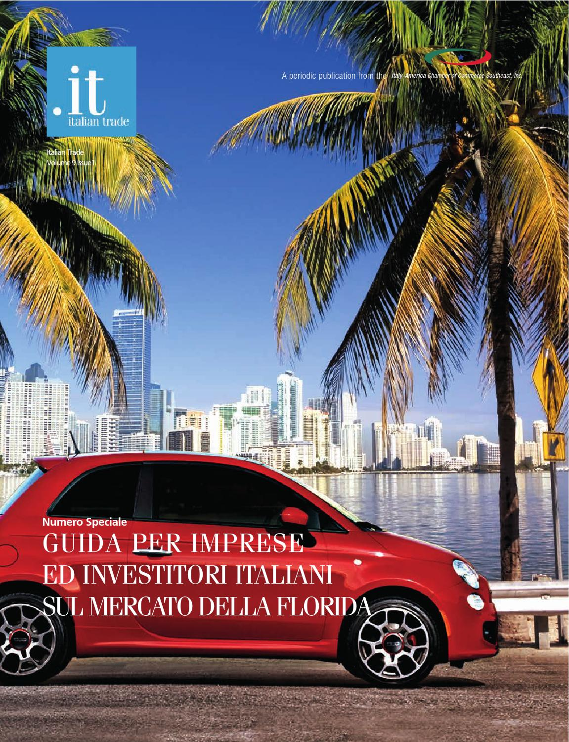 Guida agli investimenti in florida italy america chamber - Valutazione immobili commerciali ...