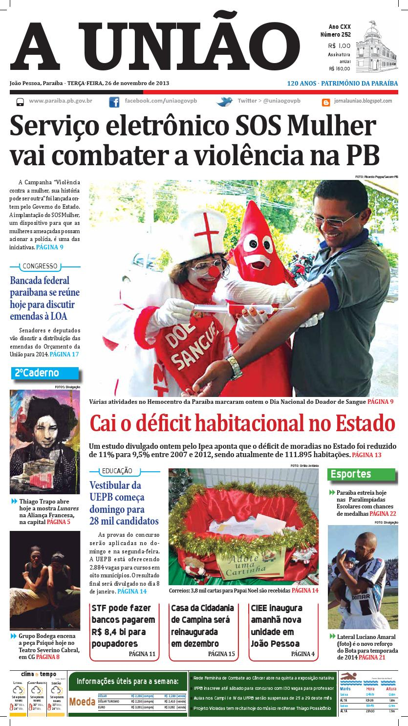 Jornal A União by Jornal A União - issuu 27b69497571