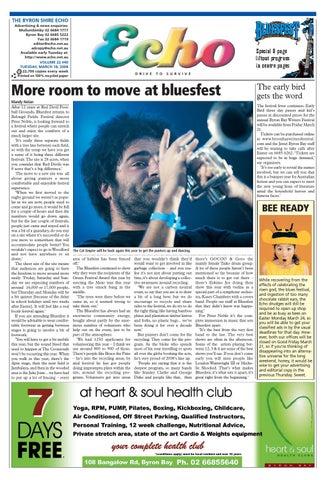 b92f883b Byron Shire Echo – Issue 22.40 – 18/03/2008 by Echo Publications - issuu