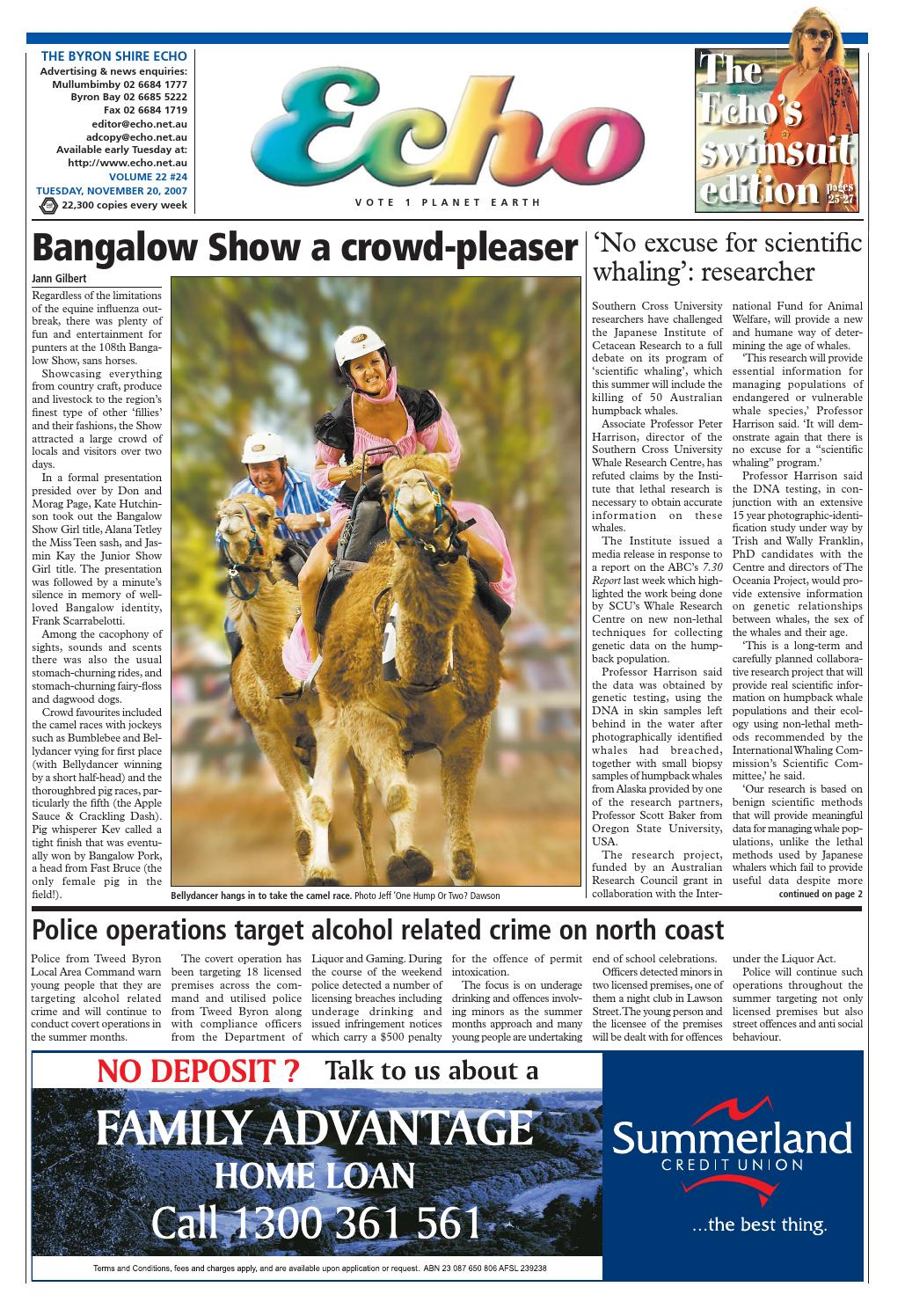 Byron Shire Echo Issue 2224 20 11 2007 By Publications Issuu Sydney Xmas Lights 4 Drysdale Circuit Beaumont Hills Christmas