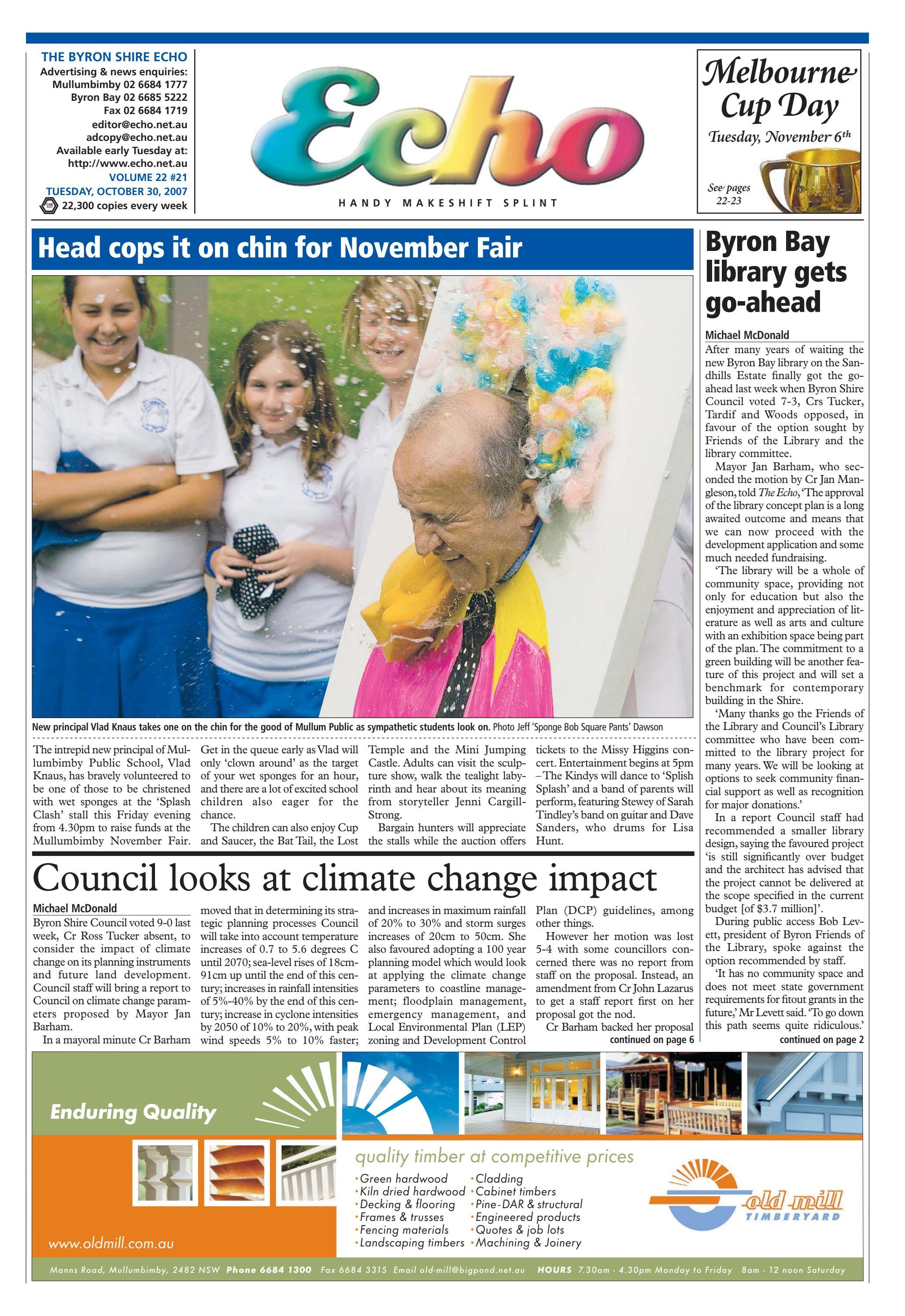 Byron shire echo issue 2221 30102007 by echo publications byron shire echo issue 2221 30102007 by echo publications issuu pooptronica
