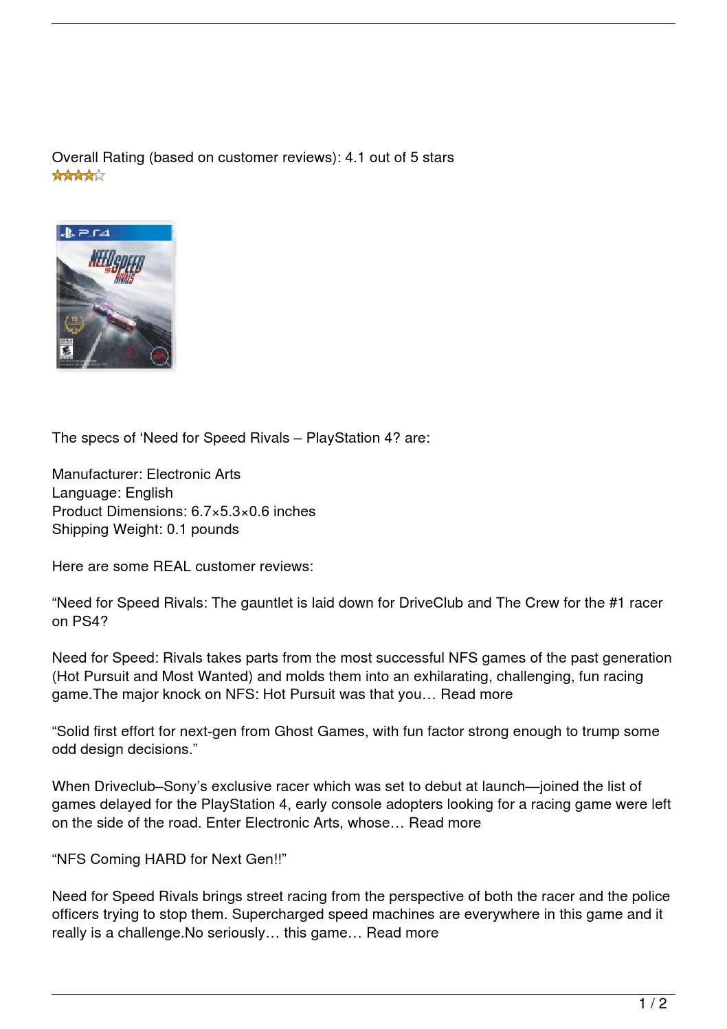 The Crew 2 Gold Edition vs Need For Speed ... - zapytaj.onet.pl