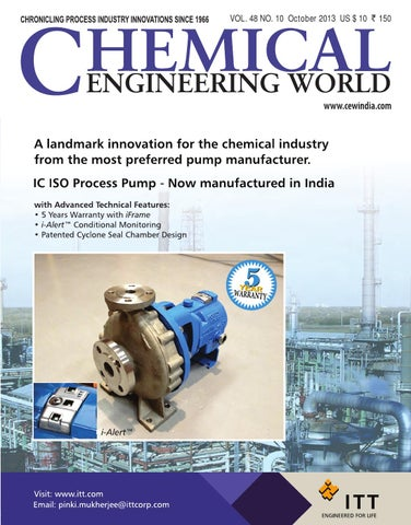 CEW October 2013 by Chemical Engineering World - issuu
